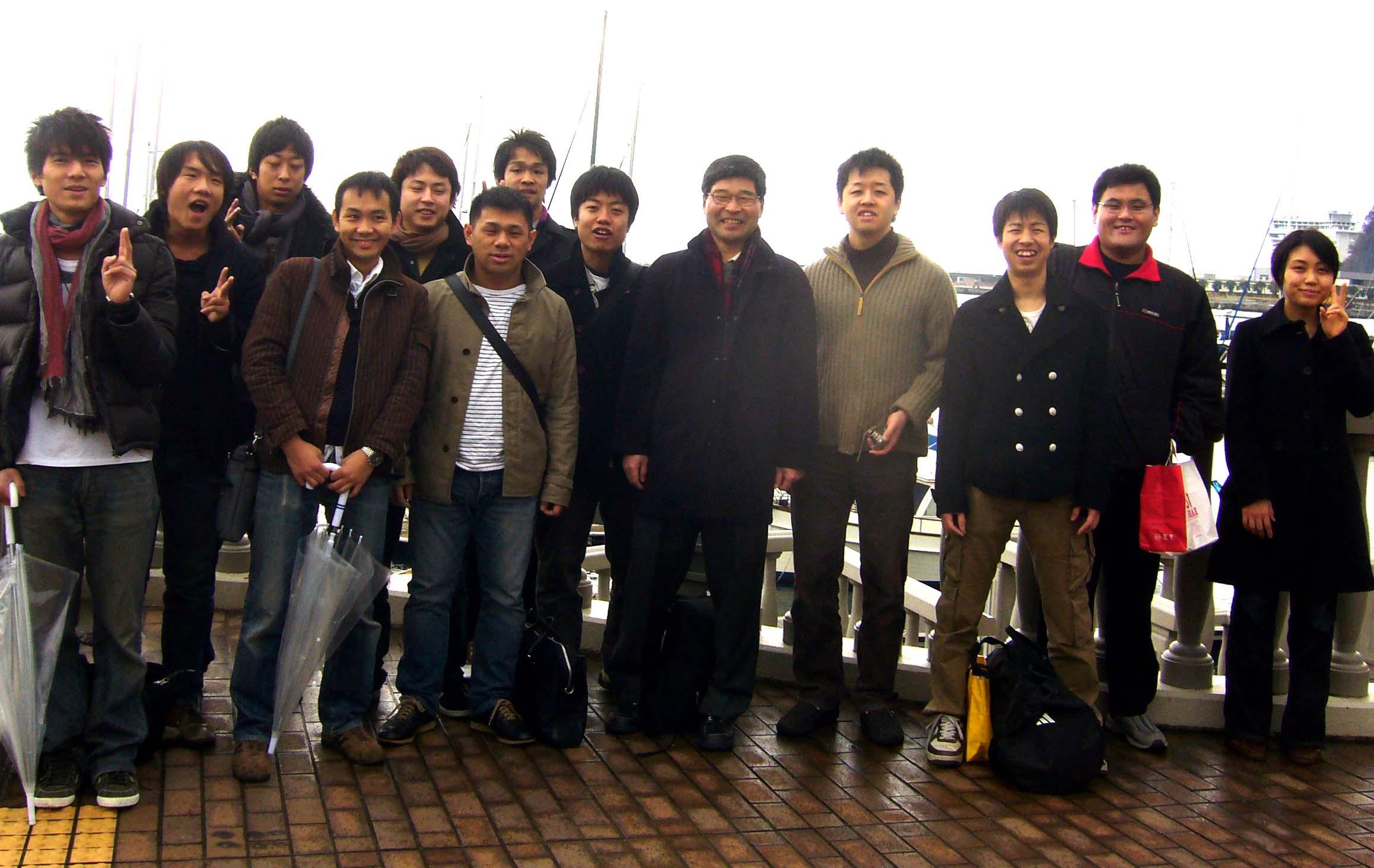 2008年1月13日熱海旅行
